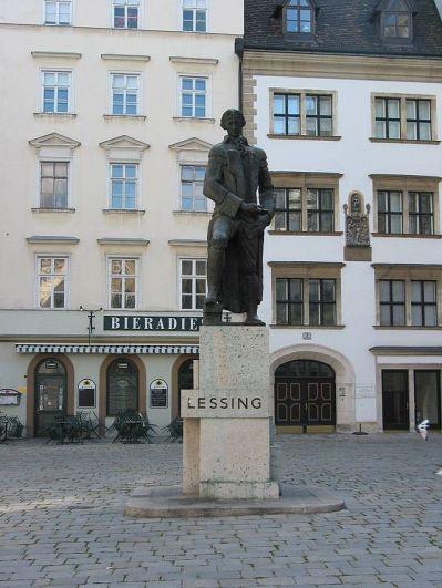 Lessing statue Judenplatz