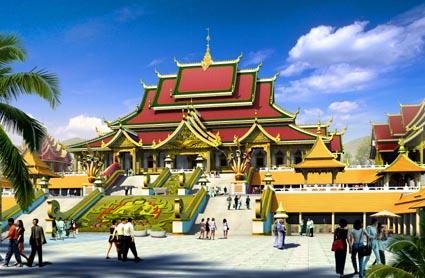 Mange-Buddhist-Temple-Jinghong-XishuangBanna