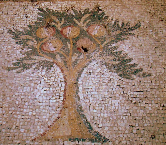 Roman Bird-Mosaic-detail