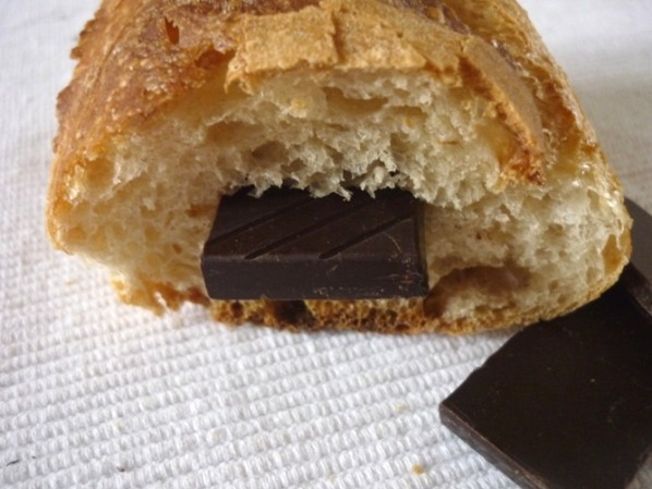 chocolate and baguette