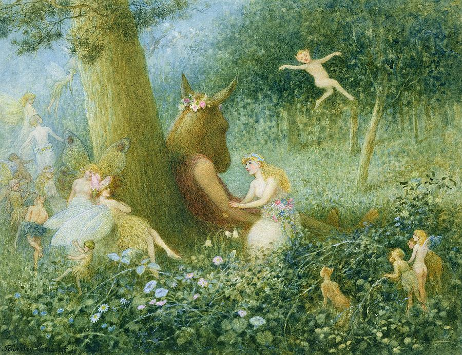 Paintings Based On Midsummer Night S Dream