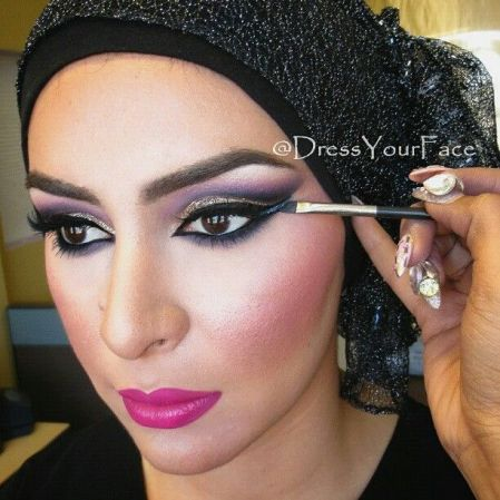 middle eastern lady