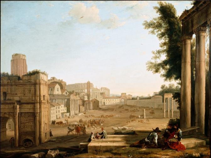 Roman forum Claude Lorrain