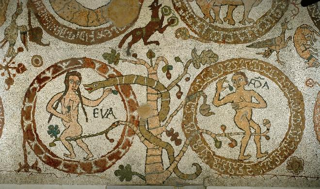 otranto-mosaic-3-adam eve snake