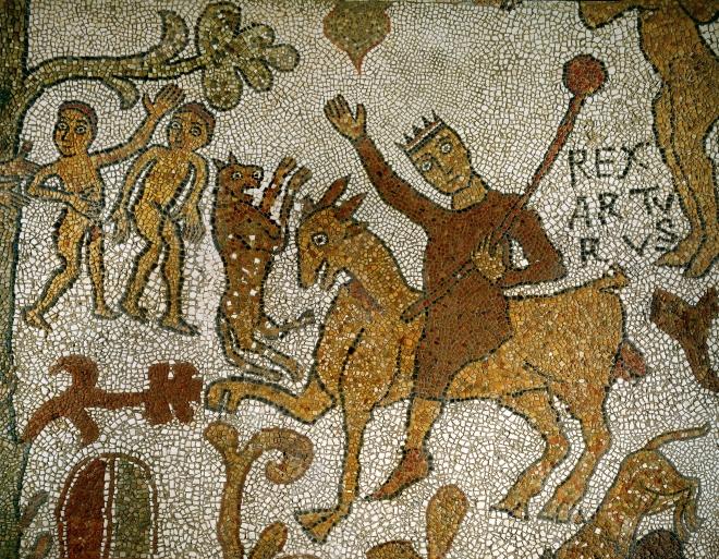 otranto-mosaic-4-King Arthur