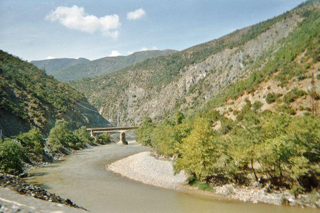 Shkumbin river