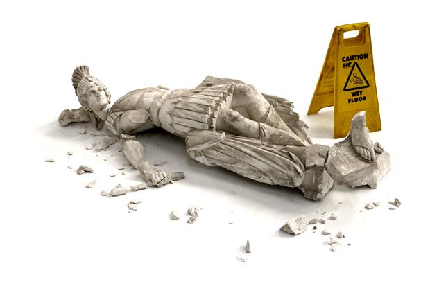 banksy-fallen-sculpture-1