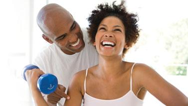 happy exercisers