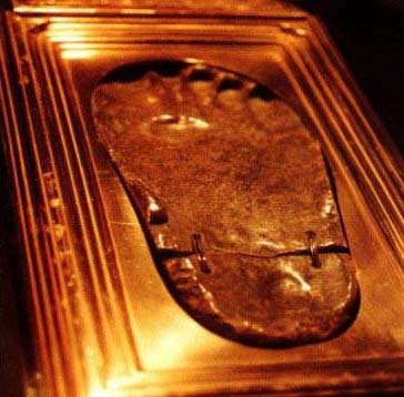 Muhammad footprint
