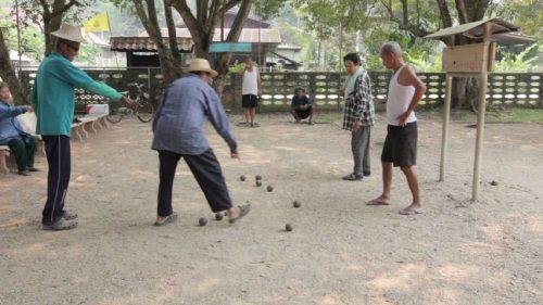 petanque in Thailand