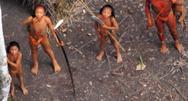 amazonian Indian feet