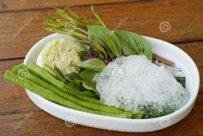 side dish fresh vegetables