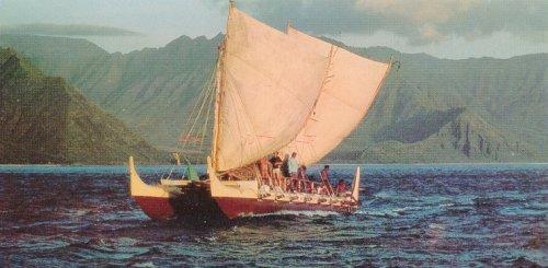modern polynesian ship