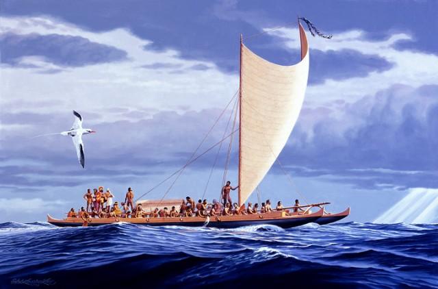 polynesian ship
