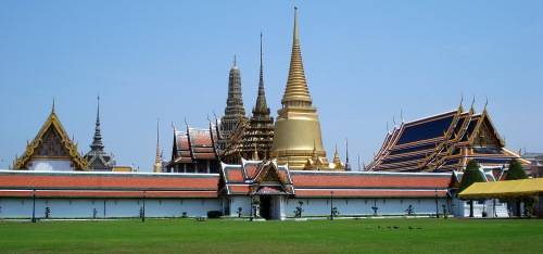 Wat Phra Kaew from a distance